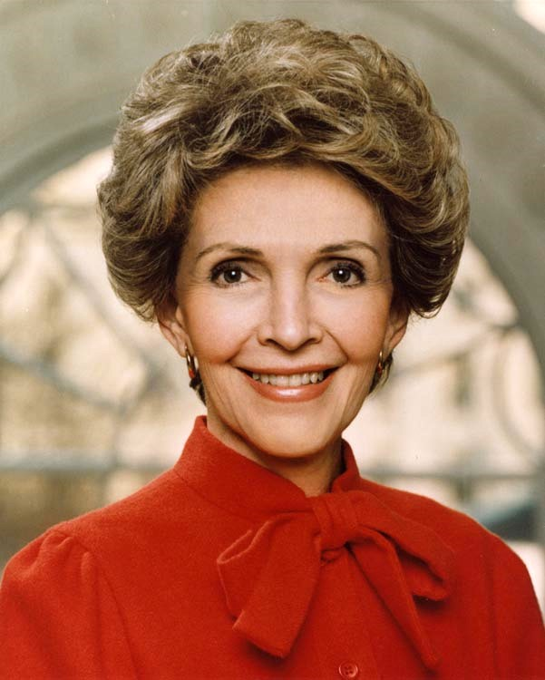 First Lady Nancy Reagan in 1983.