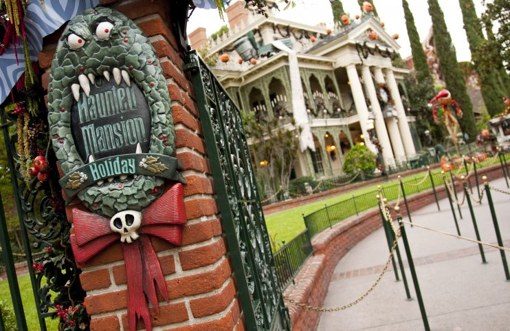 HOLIDAYS AT THE DISNEYLAND RESORT (ANAHEIM, Calif.) ––– Jack Skellington brings a unique spark to the season as Haunted Mansion Holiday returns to Disneyland park to celebrate the collision between Halloween and Christmas through Jan. 8, 2017. (Paul Hiffmeyer/Disneyland) - See more at: http://disneylandnews.com/photos/2016/10/31/holidays-at-the-disneyland-resort-15/#sthash.H7NzvNn5.dpuf