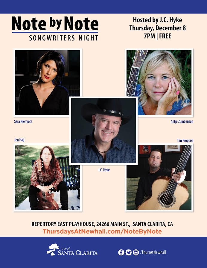 THURSDAYS@NEWHALL BRINGS LIVE MUSIC TO MAIN STREET Dec. 8, 2016