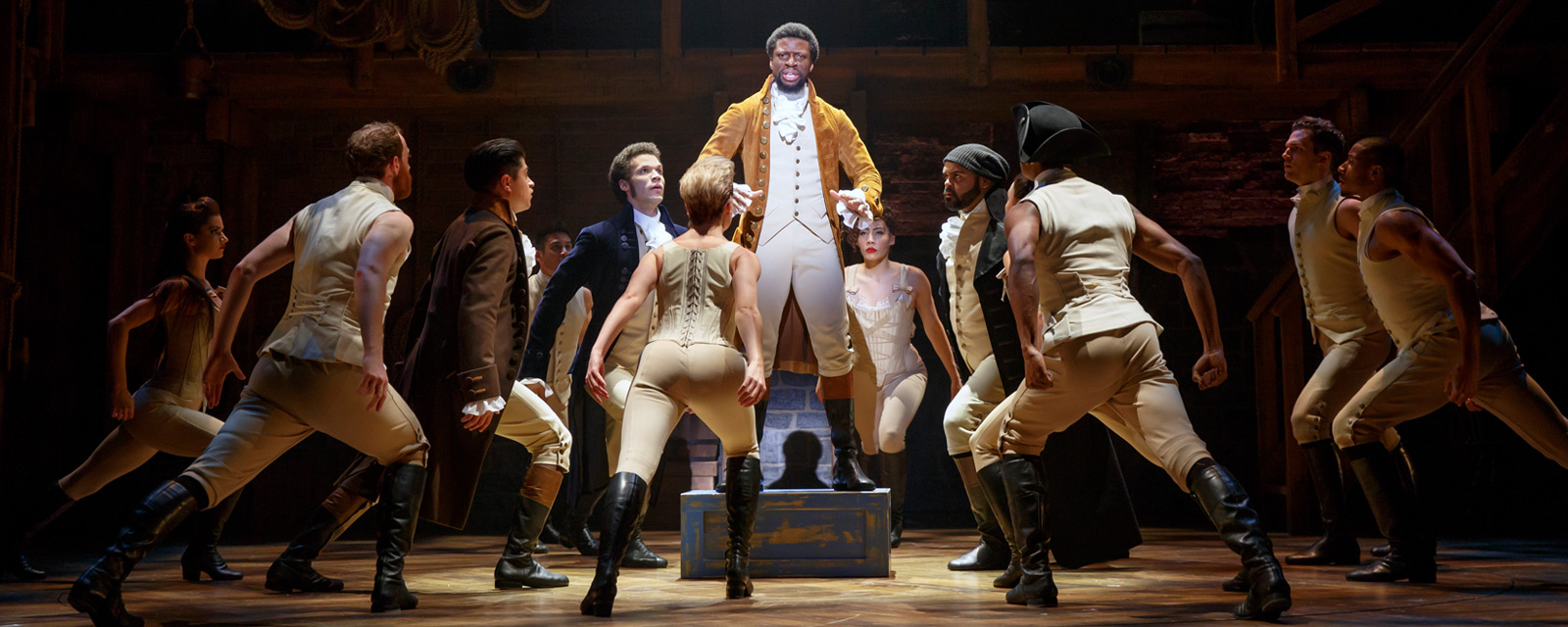 Hamilton is coming to Hollywood for it's Los Angeles premiere,  August 11, 2017.