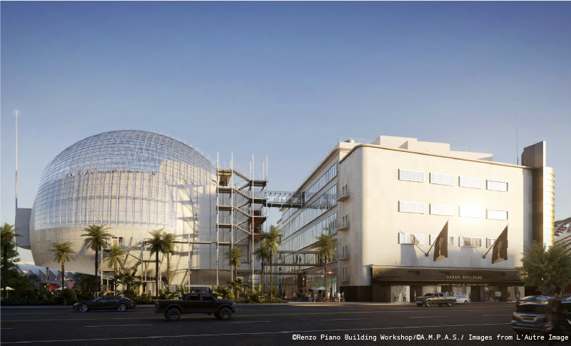 he Academy Museum of Motion Pictures announced a landmark donation of $50 million from Cheryl and Haim Saban—the largest gift to the Academy Museum Campaign. In recognition of their generosity, the May Company Building will take on a new name: the Saban Building.