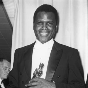 Photo: Archive Photos/Getty Images https://www.biography.com/actor/sidney-poitier