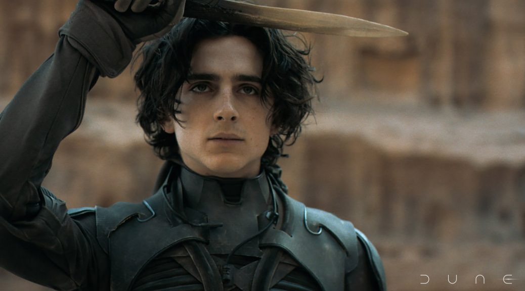 """Warner Bros. Pictures and Legendary Pictures' """"Dune,"""" - the big-screen adaptation of Frank Herbert's Sci-Fi Classic, opens in movie theaters October 22, 2021."""